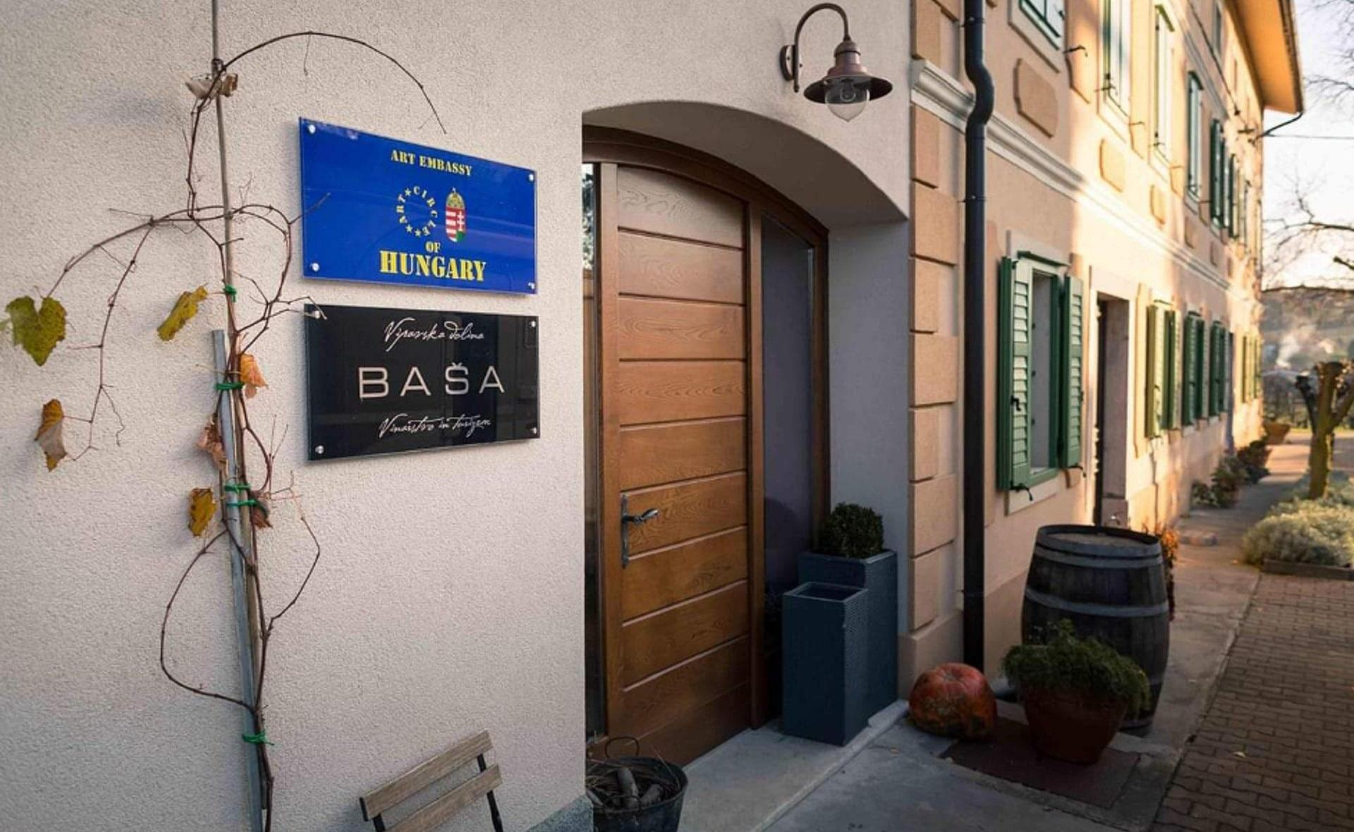 The Baša winery gives home to artists from Hungary