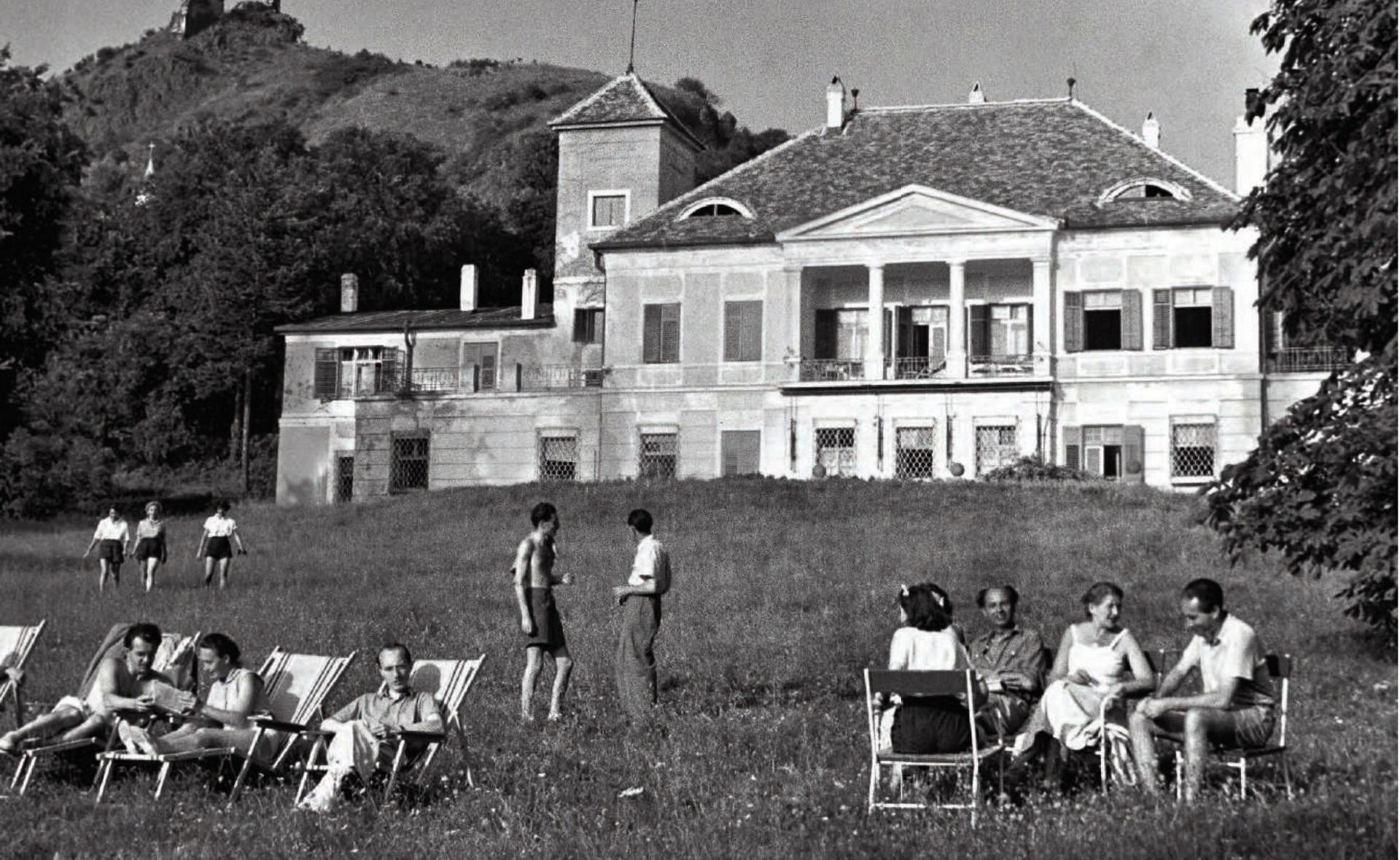 The House of Art in Szigliget, 1953
